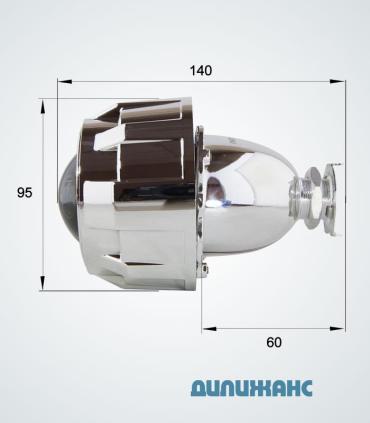 Розміри Біксенонові лінзи Infolight G5