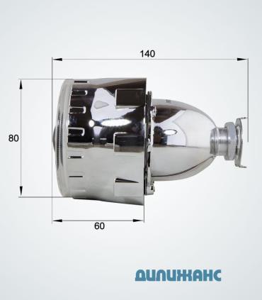 Размеры биксеноновые линзы Infolight G5  с ангельскими глазками