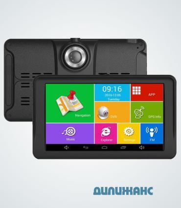"""GPS навигатор - видеорегистратор Terra M515, 7"""", Android"""