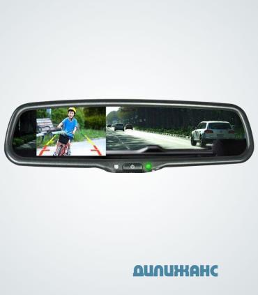 Зеркало-регистратор Prime-X S300 Full HD с видеовходом