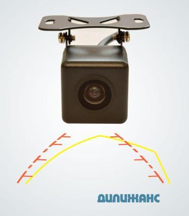 Камера заднего вида Prime-X T611 CAN + IPAS
