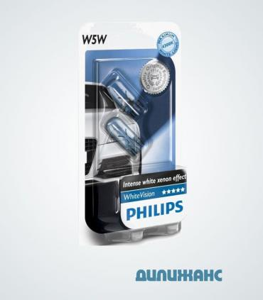 Philips White Vision w5w 4300K