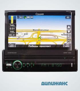 Автомагнитола SDMN-7050 Bl/Multi (Navitel map) MP5 ресивер, SHUTTLE
