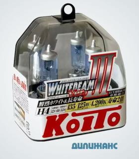 Koito Whitebeam H4 12V 60/55W