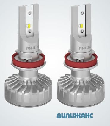 Philips Ultinon LED-FOG H8/H11/H16, 11366ULWX2