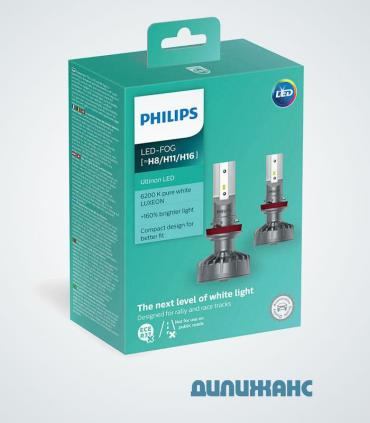 Philips Ultinon LED-FOG H8/H11/H16, 11366ULWX2