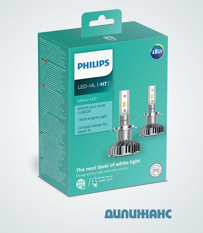 Philips Ultinon LED H7, 11972ULWX2