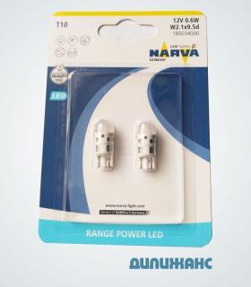 Светодиоды Narva T10 LED 6000K, 18003