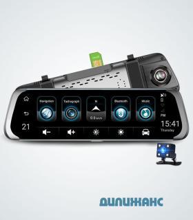 Зеркало видеорегистратор Terra С23, 4G, 10 IPS, Android