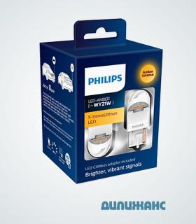 Philips X-tremeUltinon LED WY21 + Canbus 11065XUAXM