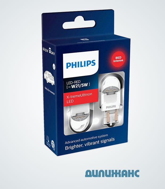Philips X-tremeUltinon LED W21/5 red gen2 11066XURX2
